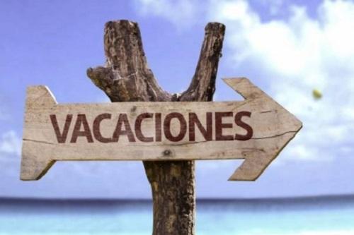 ¡Bienvenidas vacaciones!