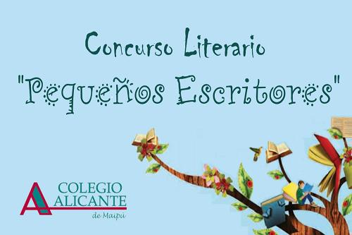 """Ganadores concurso: """"Pequeños Escritores"""" categoría 1° a 4° básico"""