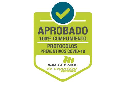 Sello Mutual Covid-19 Colegio Alicante Maipú